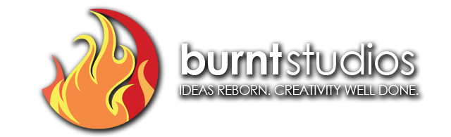 Burnt Studios. Ideas Reborn. Creativity Well Done.