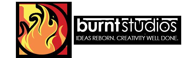 Burnt Studios. Ideas Reborn. Creativity Well Done.