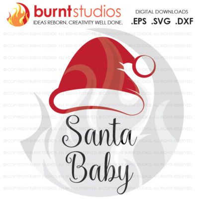 Digital File, Baby's First Christmas Shirt, Santa Baby, Bump's First Xmas, Shirt Design, Decal Design, Svg, Png, Dxf, Eps file