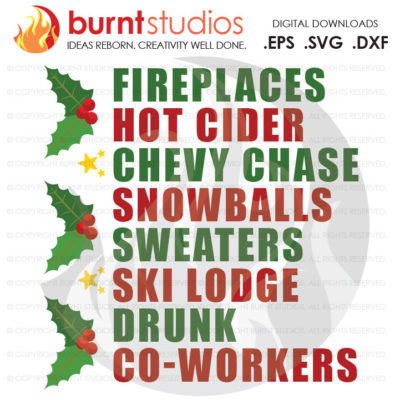 Digital File, Fireplaces Hot Cider Chevy, Funny, Christmas, Winter, Cold, Cute, Holiday, Shirt Design, Decal Design, Svg, Png, Dxf, Eps file