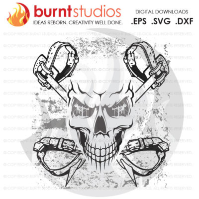Digital File, Lineman, Linemen, Skull, Climbing Hooks, Spikes, Gaffs,  Shirt Design, Decal Design, Svg, Png, Dxf, Eps file