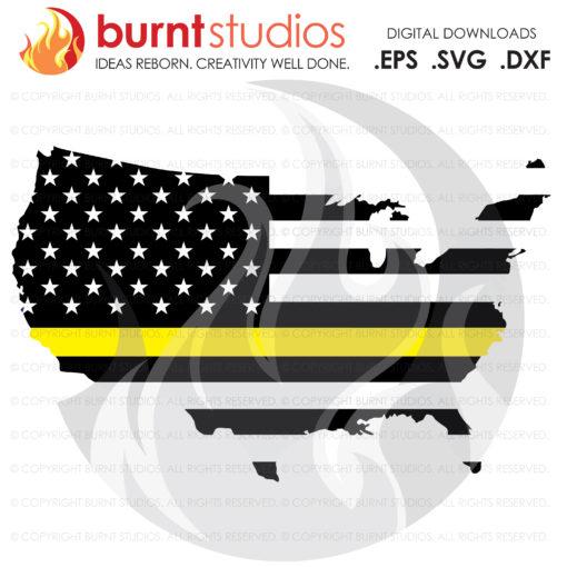 Fallen Power Lineman Tribute United States of America, USA, American Lineman, Power Linemen, Lineman SVG, Decal Art, Power Pole, Gaffs