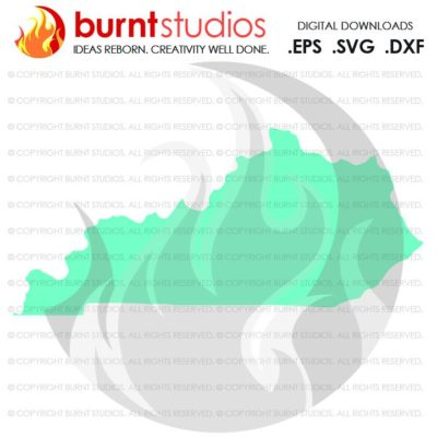 State of Kentucky SVG Cutting File, Digital Download, Love, Home, Vector, State Map Outline, SVG, Lousiville Cardinals, Bats, Wildcats