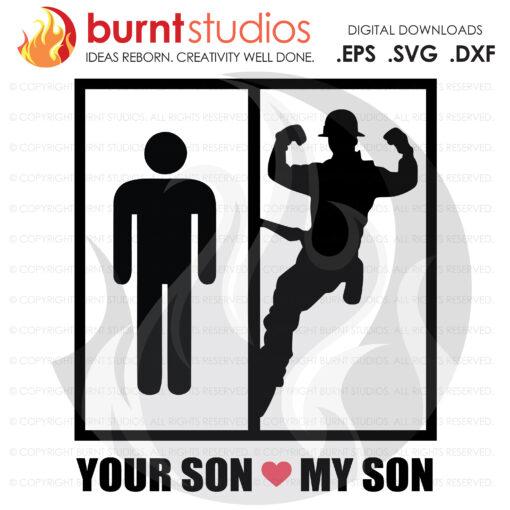 Digital File, You Son My Son,  Lineman, Linemen, Power, Climbing Hooks, Spikes, Power Lineman, Gaffs, Skull, Design, Svg, Png, Dxf, Eps file