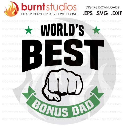 SVG Cutting File, Worlds Best Bonus Dad, Line Life, Power Lineman, Journeyman, Wood Walker, Storm Chaser, DIY, Vinyl, PNG